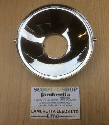 Lambretta Headlight Reflector . Sx - Tv - Lis . Brand New