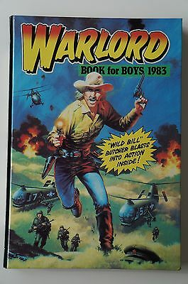 Warlord Book for Boys - 1983 - Excellent Condition - 34 Years Old