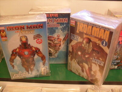 Iron Man e i potenti vendicatori 1/62 - Serie completa - Panini Comics - Nuovi!