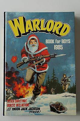 Warlord Book for Boys - 1985 - Excellent Condition - 32 Years Old