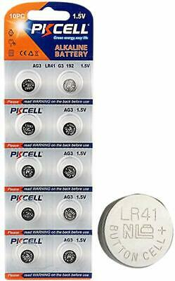 20x 1.5V Alkaline Watch Battery AG3 LR41 L736 RW87 192 392 Button Cell PKCELL