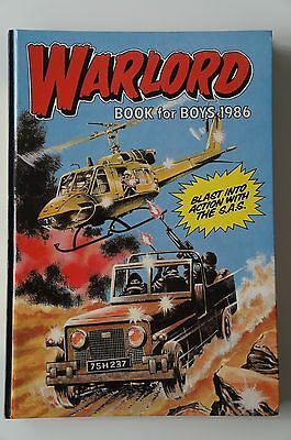Warlord Book for Boys - 1986 - Excellent Condition - 31 Years Old