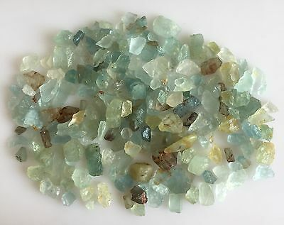 300 Ct Scoop Natural Aquamarine Raw Rough Lot Loose Gemstones Mineral Earthmined