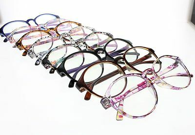 Flower 7 Colors Women's Large Oversize Oval Frame Reading Glasses +1.00 ~ +4.00