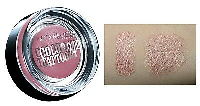 MAYBELLINE Color Tattoo 24h eyeshadow Metallic effect (65 Pink Gold) OVP