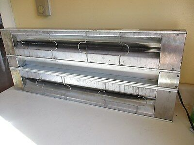 "Hatco 36""x24"" Double Infrared Strip Heater, 600W Food Warmer, Grah-36D"
