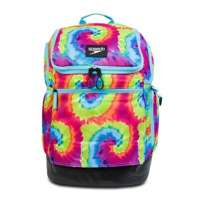 Speedo Teamster Backpack Swim Swimming Gym Kit Bag Purple Violet Rucksack