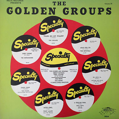 Various – The Best Of Specialty Records   (Vinyl LP)