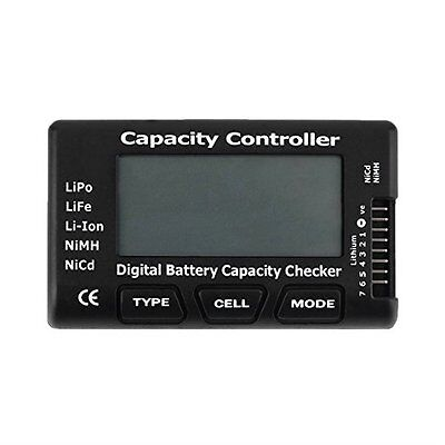 Battery Meter Checker Tester CellMeter-7 Capacity for LiPo LiFe Li-ion NiMH Nicd