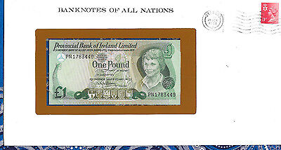Banknotes of All Nations Northern Ireland 1 Pound 1979  P247b UNC Prefix PN