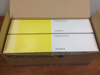 Yokogawa - Part #B9627AY - Folding Chart - Lot of Ten (10) - NEW