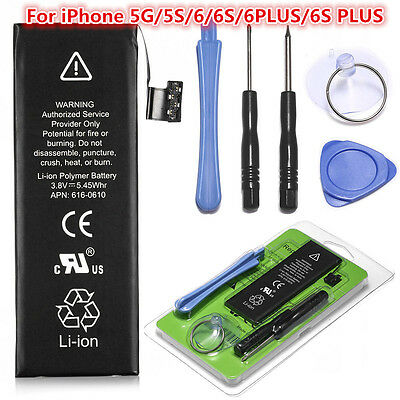 Wholesale OEM Li-ion Internal Battery Replacement for iPhone 5 5S 6 6S Plus Lot
