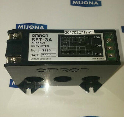 Omron Set-3A Current Converter 3113