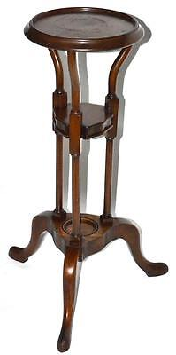 Antique Mahogany Torchere Plant Stand c. Early 20th C [PL2716R]