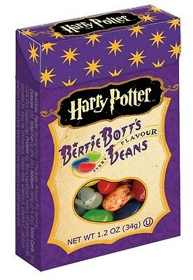 3 x American Harry Potter Bertie Botts Beans 34g by Jelly Belly