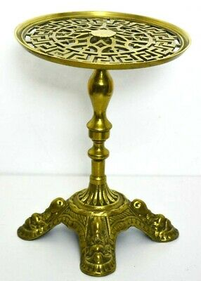 Vintage Brass Plant Stand - FREE Shipping  [PL3173]