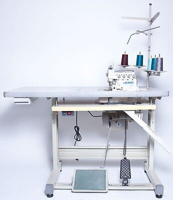 Juki 3-Thread Overlock Sewing Machine w/Table & Servo Motor (MO-6704S) COMPELETE