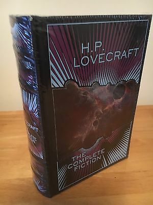 H.p. Lovecraft The Complete Fiction Leatherbound Hardback Book