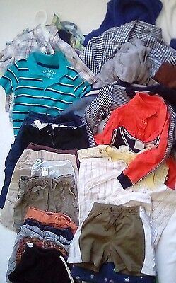Great Lot Of Baby Boy Toddler Clothes 12-18 Months 35 Pieces