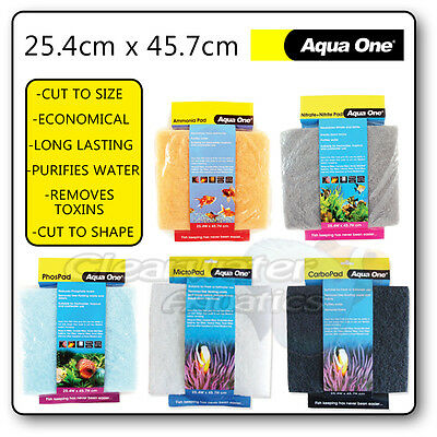 External Filter Pad Sponge Carbon P04 N03 N02 Fish Tank Aquarium Media Foam Reef