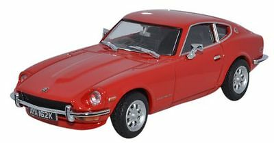 Oxford Diecast Dat001, Datsun 240Z Red 905, 1:43 Scale