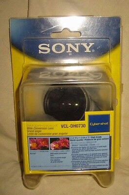 Sony Cyber Shot Wide Angle Conversion Lens VCL-DH0730
