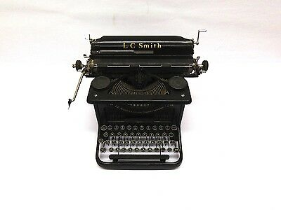 "Antique L.c. Smith & Corona #8 12"" Typewriter"