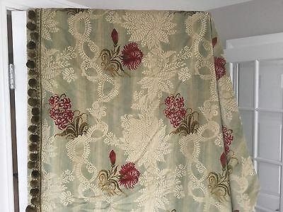 """Exquisite Custom Crushed Velvet Drapes Curtain 50"""" x 96"""" French Decor Lined"""