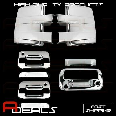 09-14 FORD F150 Cover Chrome Mirror &2 Door Handle W/O Key W/PK&Tailgate CAM