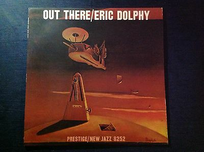 ERIC DOLPHY RON CARTER ROY HAYNES OUT THERE New Jazz 8252 1960 LP Mono DG RVG NM
