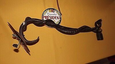 Rare Snake 1940 painted Cast lamp apothecary German shop trade sign 23""