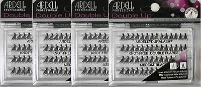 8a21db9762f (4pack)Ardell Duralash Double Individuals knot-free Medium Black  (56Lashes)61485