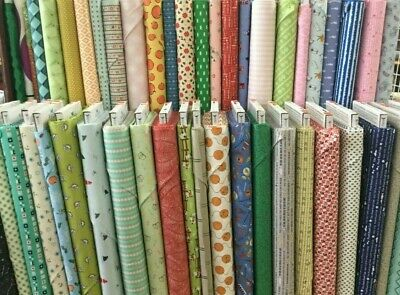 Clearance Fabrics ~ On the Bolt ~ Priced by the Half Yard OR Panel