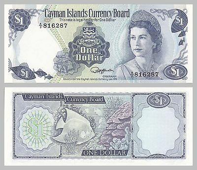 Kaimaninseln / Cayman Islands 1 Dollar 1974 p5b unz.