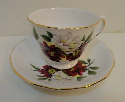Ridgeway Potteries Bone China Royal Vale Cup & Saucer Made in England