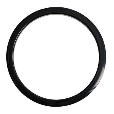 Gibraltar Port Hole Protector Ring 5-inch Black Finish