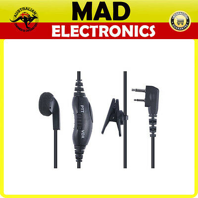 GME Universal Earphone/Microphone to suit GME TX665/675/6155