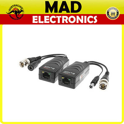 Rj45 Jack Video & Power Balun Passive Up To 250M Hd Version