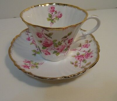 Royal Albert Crown China Cup & Saucer Made in England