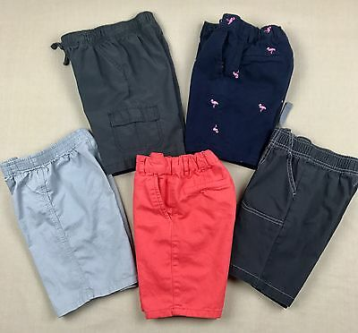 Toddler Boy Clothes Size 4T Spring Summer Shorts Mixed Lot Set Of 5 Pair