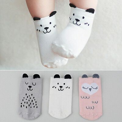 Cute Baby Socks Boy Girl Cartoon Cotton Socks NewBorn Infant Toddler Socks JEC