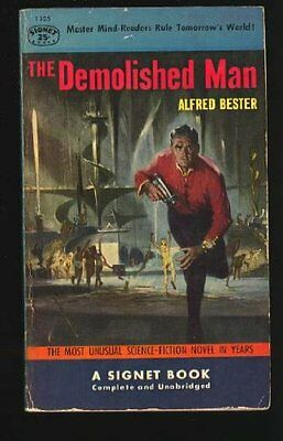The Demolished Man (Penguin science fiction) By Alfred Bester