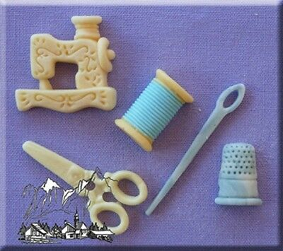 Sewing Silicone Cake Decorating Mould by Alphabet Moulds