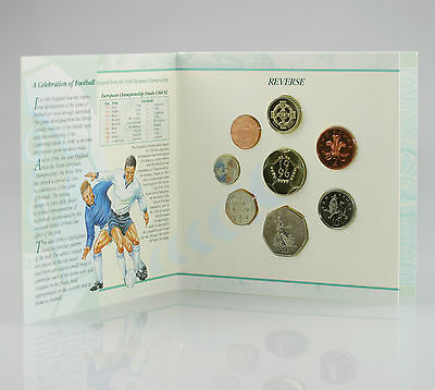 1996 Brilliant Uncirculated Coin Set Collection, Royal Mint 8 Coin Pack (FZ116)