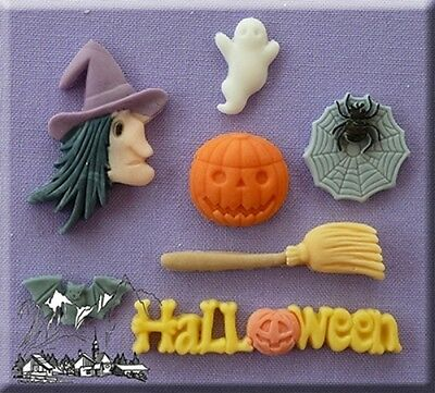 Halloween Silicone Cake Decorating Mould by Alphabet Moulds