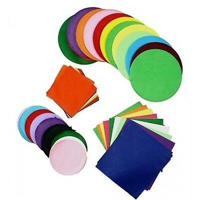 Stephens 75mm Circles Tissue Paper (Pack of 480) NEW / FREE P&P