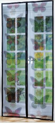 insect door screen magnetic fly mesh bug curtain magic mosquito fastening net