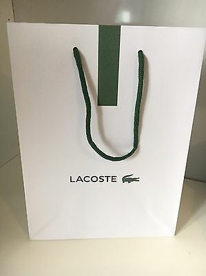 Lacoste Gift Bags Paper Designer Bags Small 29Cm X 22Cm