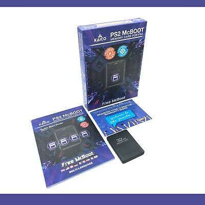 Free McBoot FMCB 1.953 Sony PlayStation2 PS2 16MB Memory Card OPL ESR HD MC Boot