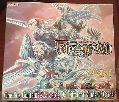 Force Of Will TCG Vingolf 2: Valkyria Chronicles Sealed Booster Box